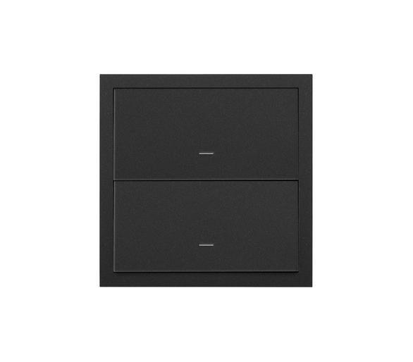 Panel 1-krotny 2 klawisze, czarny mat 10020103-238 Simon100