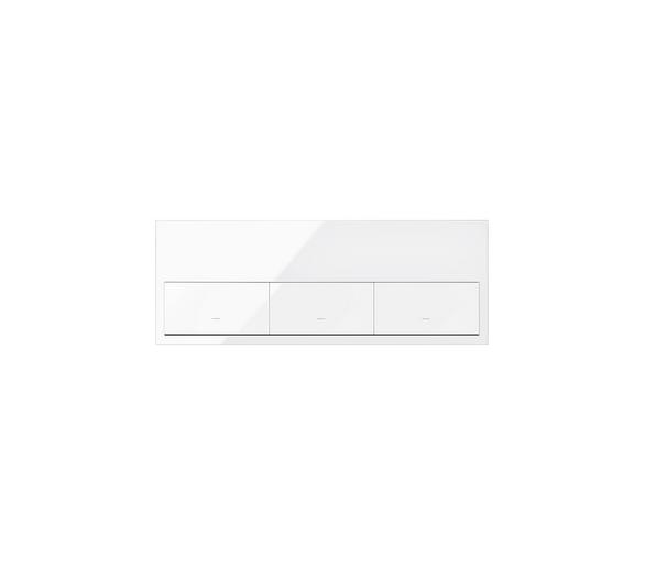 Panel 3-krotny 3 klawisze, biały 10020301-130 Simon100