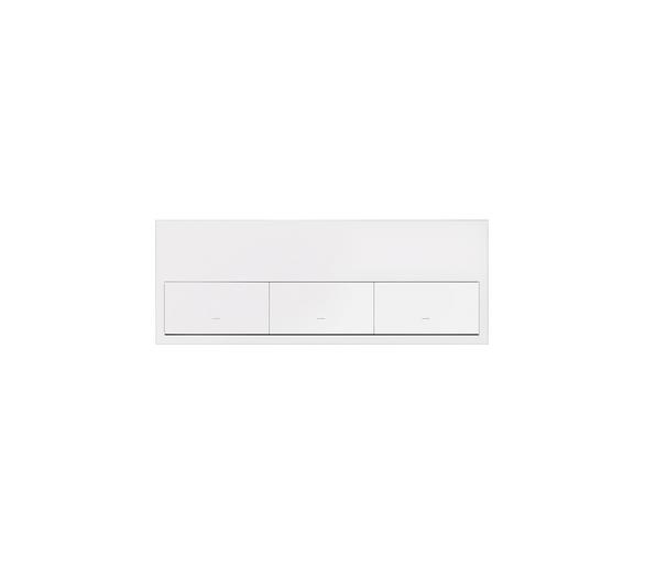 Panel 3-krotny 3 klawisze, biały mat 10020301-230 Simon100