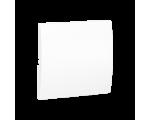 Klawisz pojedynczy do łączników i przycisków biały MKW1/11