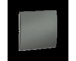 Klawisz pojedynczy do łączników i przycisków grafitowy, metalizowany MKW1/25