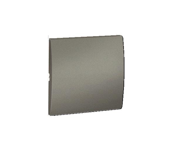 Klawisz pojedynczy do łączników i przycisków platynowy, metalizowany MKW1/27