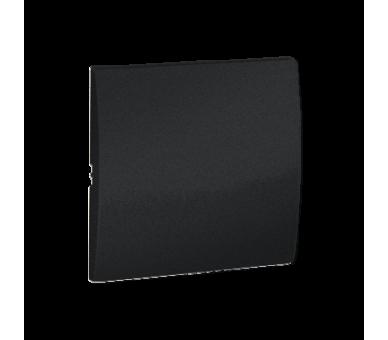 Klawisz pojedynczy do łączników i przycisków grafit mat, metalizowany MKW1/28