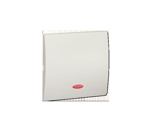 Klawisz pojedynczy z oczkiem do łączników i przycisków podświetlanych ecru MKW1L/10