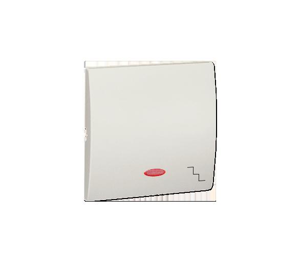 Klawisz pojedynczy z oczkiem do łączników i przycisków podświetlanych ecru MKW6L/10