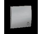 Klawisz pojedynczy do łączników i przycisków aluminiowy, metalizowany MKS1/26