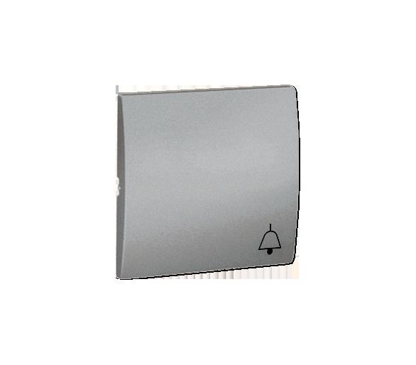 Klawisz pojedynczy do łączników i przycisków aluminiowy, metalizowany MKD1/26