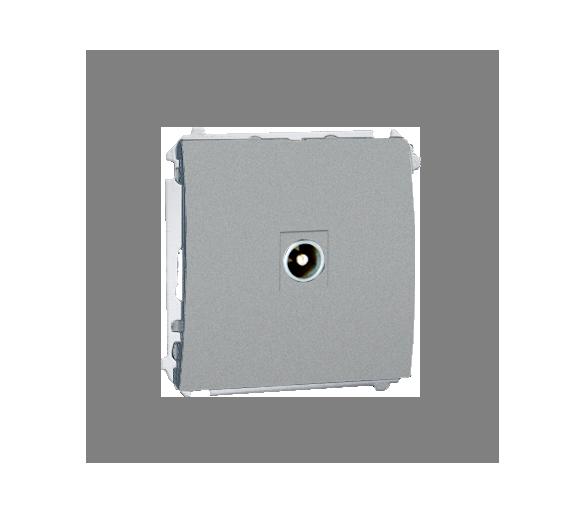 Gniazdo antenowe R-TV końcowe separowane tłum.:1dB aluminiowy, metalizowany MAK3.01/26
