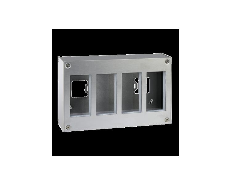 Obudowa natynkowa METAL SIMON 500 4×S500 8×K45 51000014-036