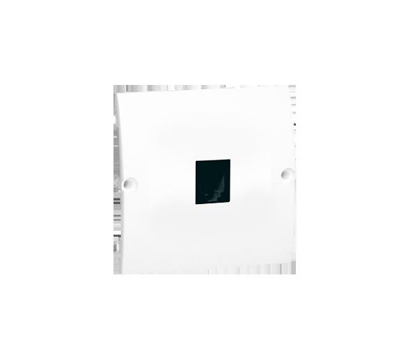 Gniazdo telefoniczne pojedyncze RJ11 biały