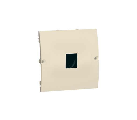Gniazdo telefoniczne pojedyncze RJ11 beżowy