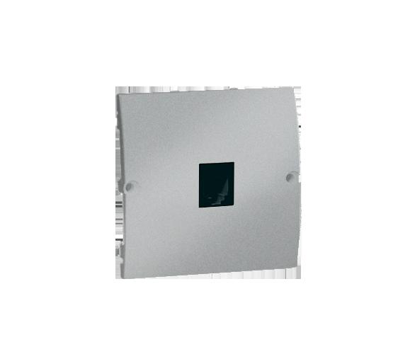Gniazdo telefoniczne pojedyncze RJ11 aluminiowy, metalizowany MTU.01/26