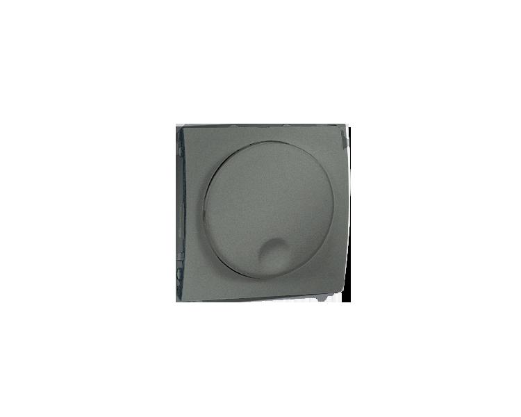 Ściemniacz naciskowo-obrotowy grafitowy, metalizowany MS9T.01/25