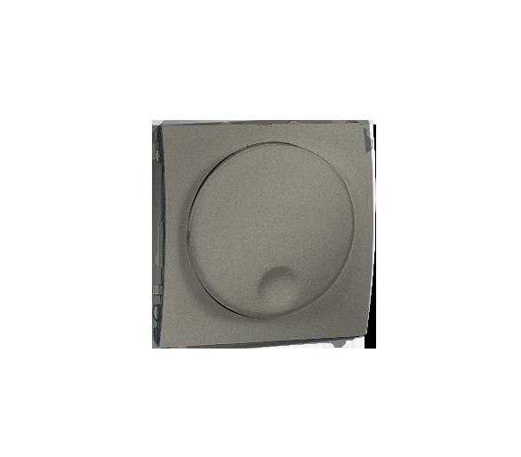 Ściemniacz naciskowo-obrotowy platynowy, metalizowany MS9T.01/27