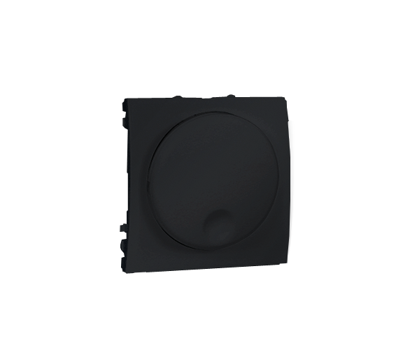 Ściemniacz naciskowo-obrotowy grafit mat, metalizowany MS9T.01/28