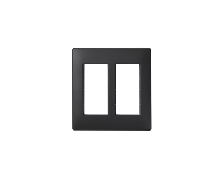 Ramka obudowy SIMON 500 2×S500 4×K45 szary grafit 51010102-038