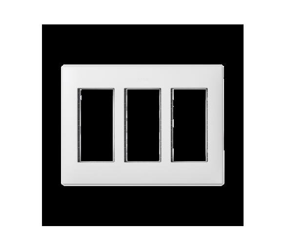 Ramka obudowy SIMON 500 3×S500 6×K45 czysta biel 51010103-030