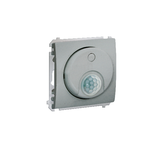 Łącznik z czujnikiem ruchu aluminiowy, metalizowany MCR10T.01/26