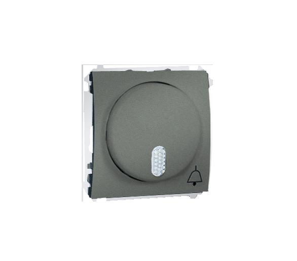 Dzwonek elektroniczny grafitowy, metalizowany MDS1.01/25