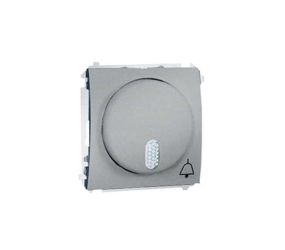 Dzwonek elektroniczny aluminiowy, metalizowany MDS1.01/26