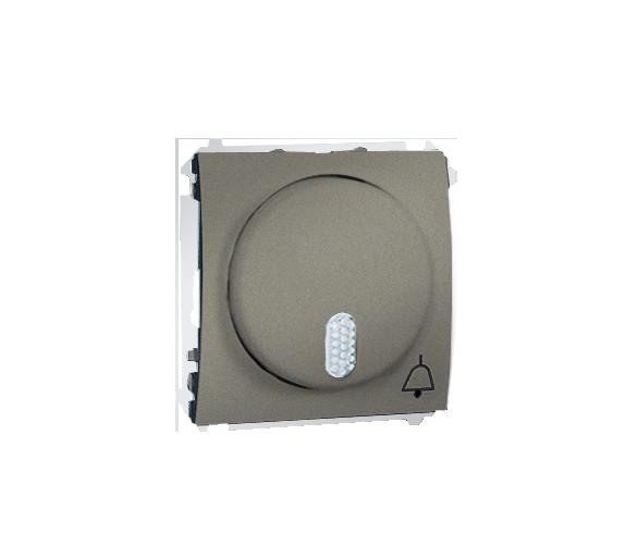 Dzwonek elektroniczny platynowy, metalizowany MDS1.01/27