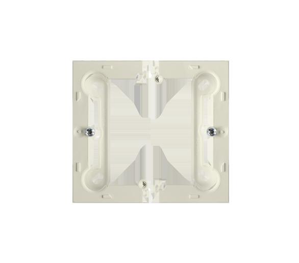 Puszka natynkowa pojedyncza składana beżowy PSCS/12