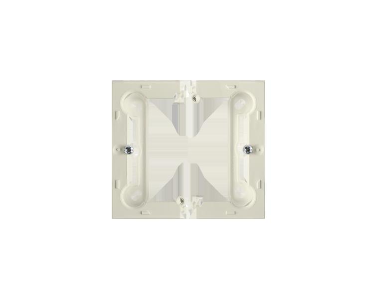 Puszka natynkowa pojedyncza składana beżowy PSC/12