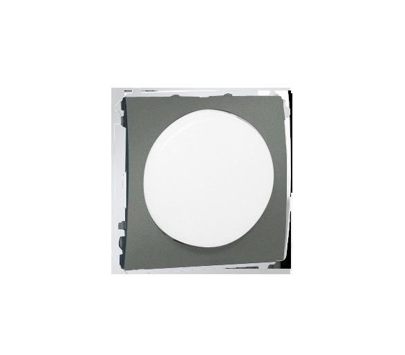 Sygnalizator świetlny LED - światło białe grafitowy, metalizowany MSS/1.01/25