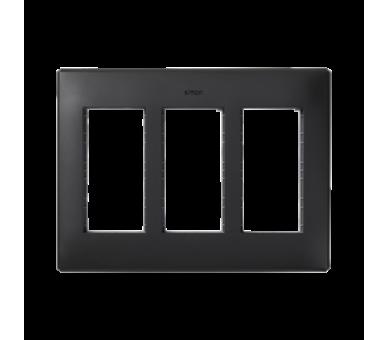 Ramka obudowy SIMON 500 3×S500 6×K45 szary grafit 51010103-038