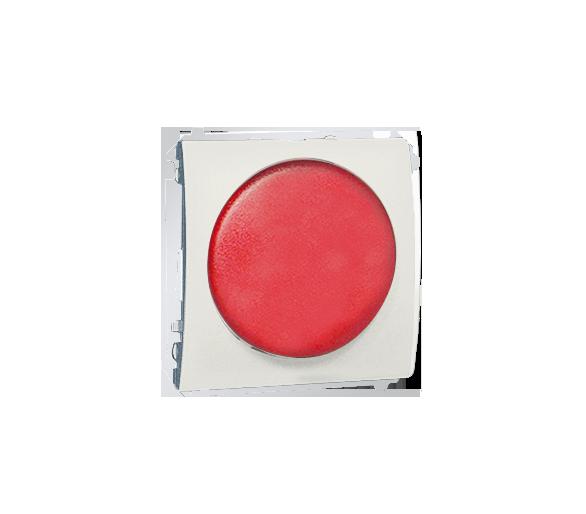 Sygnalizator świetlny LED - światło czerwone ecru MSS/2.01/10