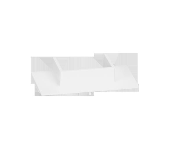 Adapter do kanału 20x30mm do obudów natynkowych SIMON 500 czysta biel 51010900-030