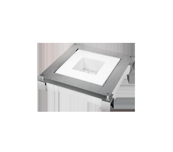 Kaseta do wylewki z metalu FB kwadratowa GFB390