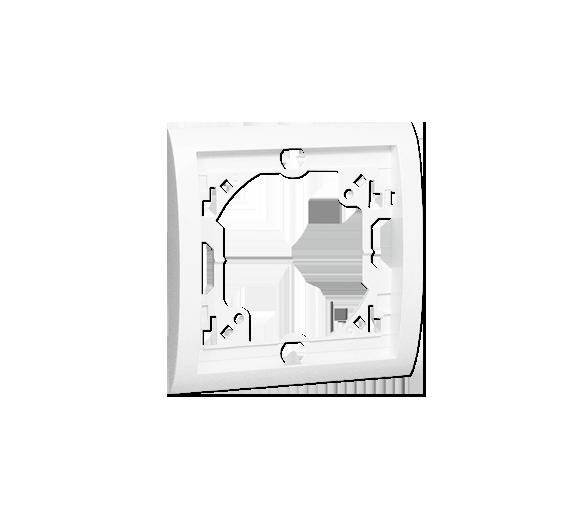 Ramka 1- krotna biały MR1/11