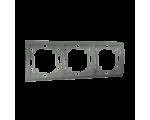 Ramka 3- krotna grafitowy, metalizowany MR3/25