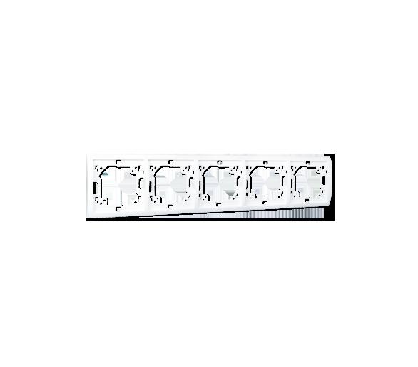 Ramka 5- krotna biały MR5/11