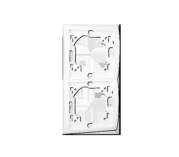 Ramka 2- krotna biały MR2P/11