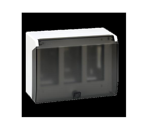 Obudowa natynkowa z pokrywą SIMON 500 3×S500 6×K45 czysta biel 51040003-030