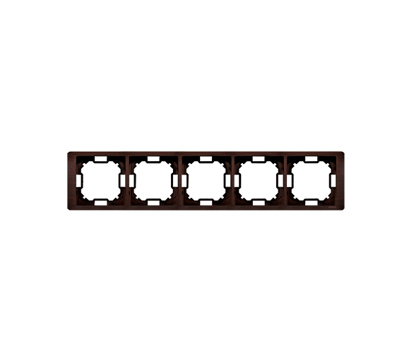 Ramka 5- krotna mahoniowy, hydrografika BMRC5/050