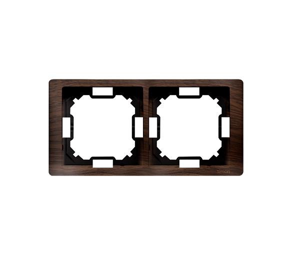 Ramka 2- krotna dębowy, hydrografika BMRC2/051