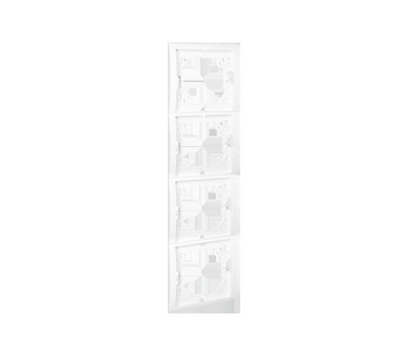 Ramka 4- krotna biały MR4P/11