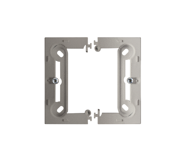 Puszka natynkowa pojedyncza składana satynowy, metalizowany PSC/29