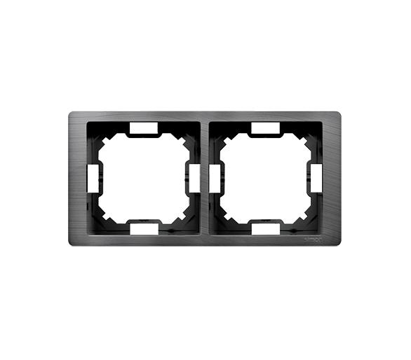 Ramka 2- krotna tytanowy, hydrografika BMRC2/052