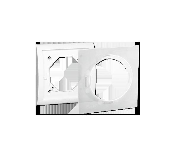 Ramka 1- krotna IP44 biały MR1B/11