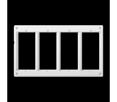 Ramka osprzętowa SIMON 500 4×S500 (element zapasowy) czysta biel 52051804-030
