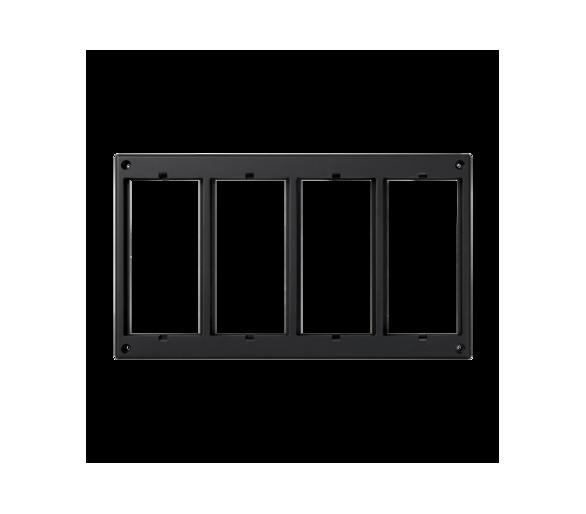 Ramka osprzętowa SIMON 500 4×S500 (element zapasowy) szary grafit 52051804-038