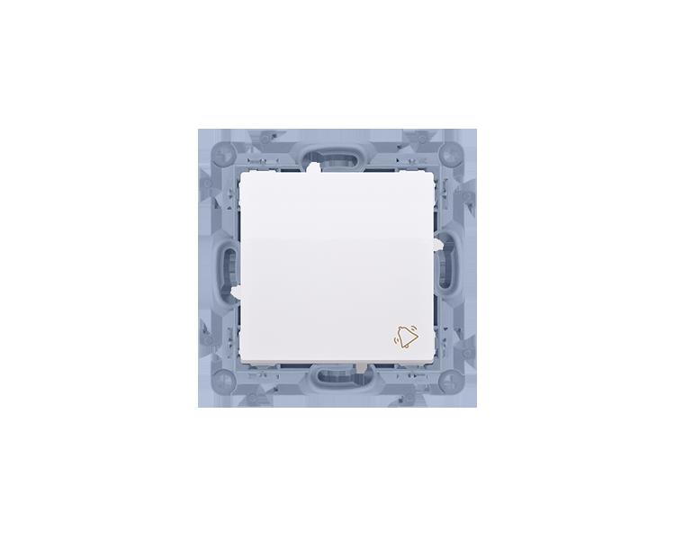 """Przycisk """"dzwonek"""" biały 10AX CD1.01/11"""