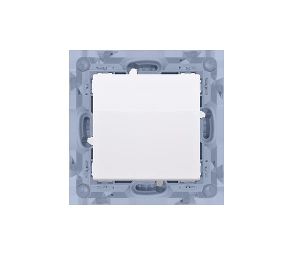 Przycisk pojedynczy zwierny bez piktogramu biały 10AX