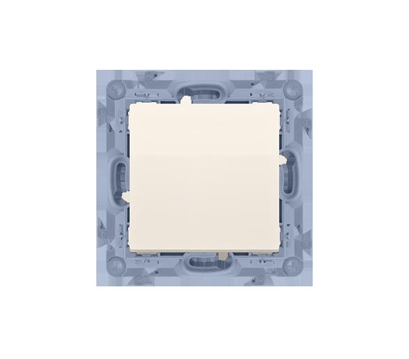 Przycisk pojedynczy zwierny bez piktogramu kremowy 10AX