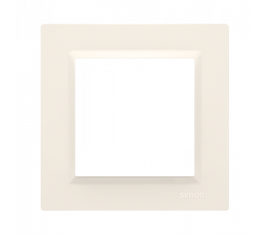 Ramka 1- krotna kremowy CR1/41
