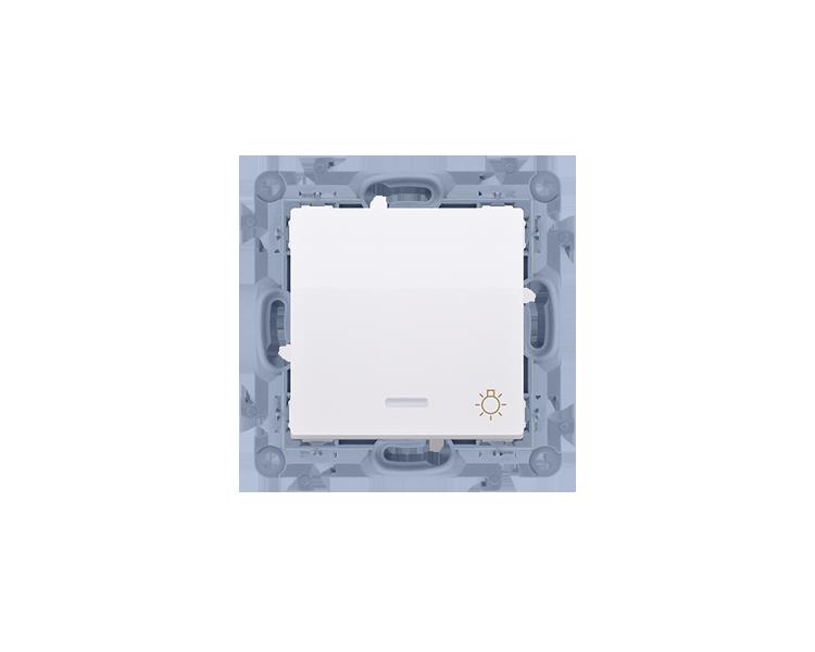"""Przycisk """"światło"""" z podświetleniem biały 10AX CS1L.01/11"""